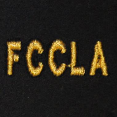 FCCLA Embroidered Swiss Insert