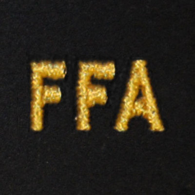 FFA Embroidered Swiss Insert