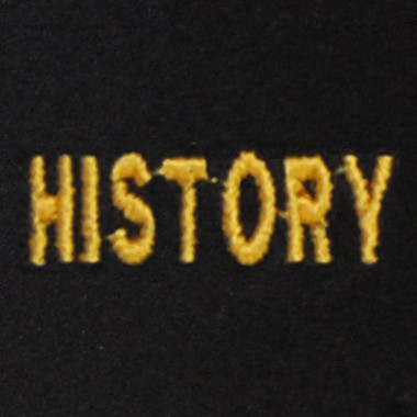 History Embroidered Swiss Insert