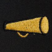 Megaphone Embroidered Swiss Insert