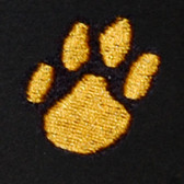 Paw Embroidered Swiss Insert