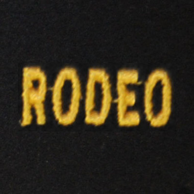 Rodeo Embroidered Swiss Insert