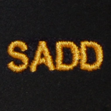 SADD Embroidered Swiss Insert