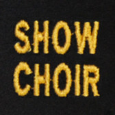 Show Choir Embroidered Swiss Insert