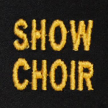 Show Choir Embroidered Swiss Insert
