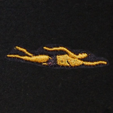 Swimmer - Male Embroidered Swiss Insert