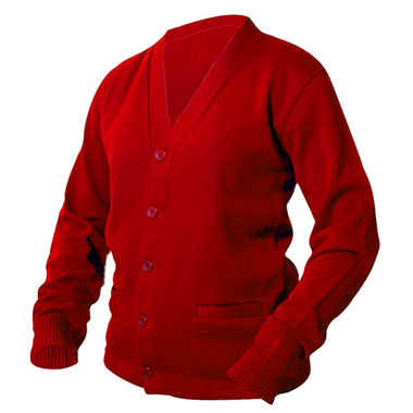 Scarlet Red Letterman Sweater