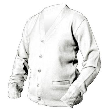 White Letterman Sweater