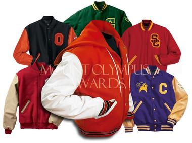 Custom Varsity Letterman Jacket with Set-In Sleeves