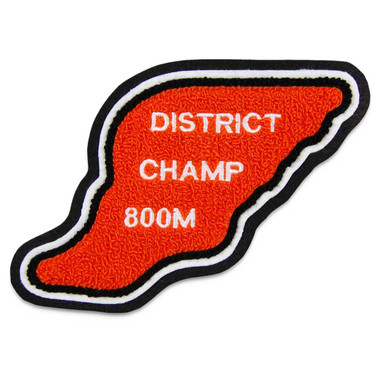 Track Foot Sports Patch