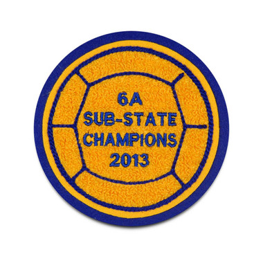 Volleyball Sport Patch