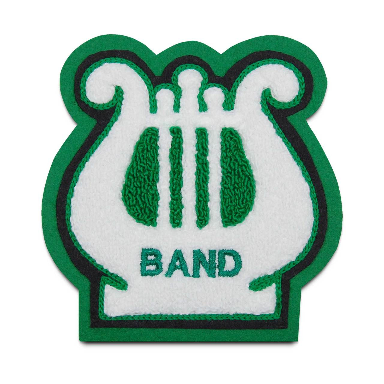 Lyre 3 Music Patch Chenille Letter Jacket Patches