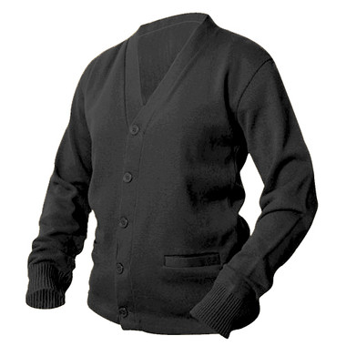 Charcoal Letterman Sweater