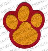Single Felt 3 Paw Patch