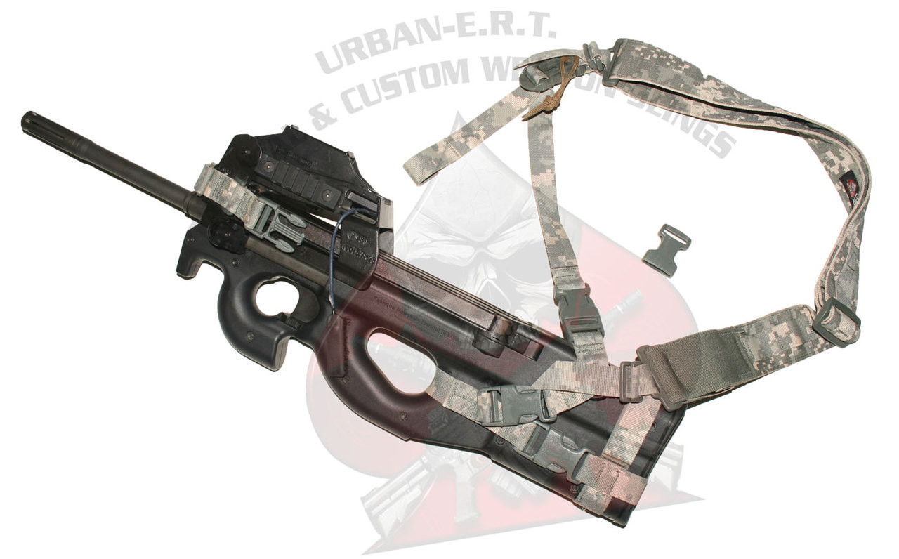 URBAN-SENTRY P90 / PS90 sling in one point configuration.