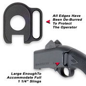 (GGG-1132) Mossberg 500/590 Rear Sling Receiver Plate for Webbing Adapter