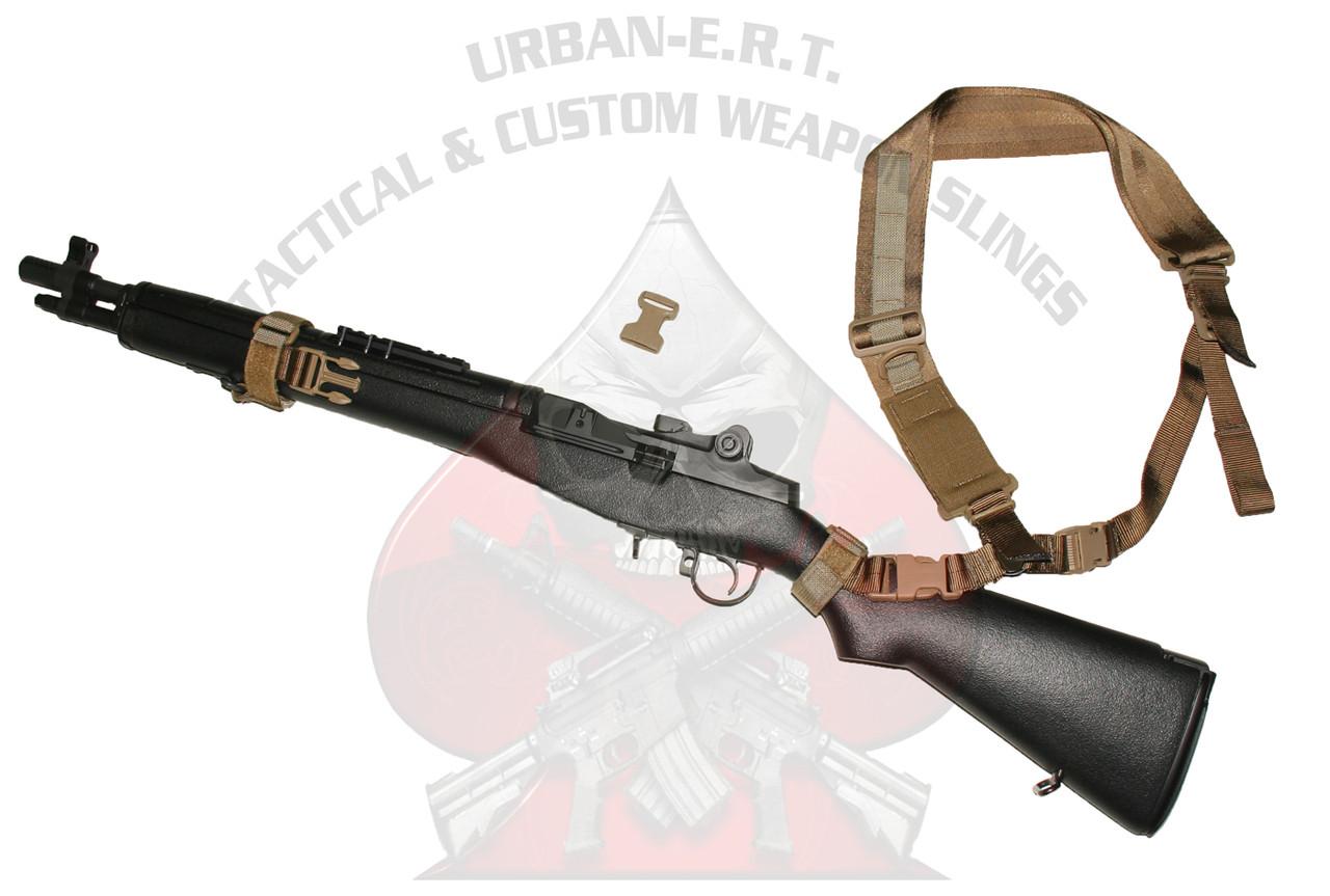 Springfield M1, M1A, & SOCOM-16 URBAN-SENTRY Hybrid Sling Complete Kit