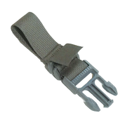 This is the Double Locking Speed Loop Male Webbing Adapter 0-15 that is the most common adapter that is used to secure our slings to sling attachment swivels or slots for webbing.