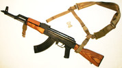 AK-47 Full Stock Hybrid Single/Two Point Sling