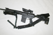 DPMS SASS URBAN-SENTRY Hybrid Sling Complete kit with front and rear attachments.