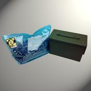 "ZCORR 50 Caliber Ammo Can Single Sealable Bag Size: 11"" x 5-1/2"" x 7"""