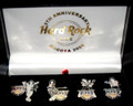 9th Anniversary Hard Rock Cafe Nagoya 2006 Group KISS Pins Set