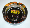 KISS Solo Faces Glass Ashtray