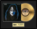 Ace Frehley Solo KISS 24KT Gold Record LP Award