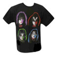 KISS Solo Faces Tshirt