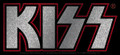 KISS Logo Glitter Sticker