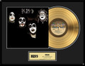 KISS First Album Gold LP Record Award