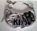 KISS First Album Print Silver Womens Purse