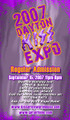 2007 Dayton KISS Expo Regular Admission Ticket
