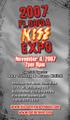 2007 Florida KISS Expo Regular Admission Ticket
