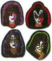 Solo Faces Patch Set of 4