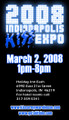 2008 Indianapolis KISS Expo Regular Admission Ticket