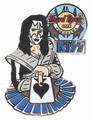 Hard Rock Cafe Yokohama 2005 KISS Ace Frehley with Cards Pin