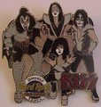 KISS Hard Rock Cafe Pin Seminole Tampa Hotel & Casino