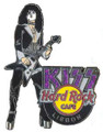 KISS Hard Rock Cafe 2006 Lisbon FLAME Paul Stanley Pin