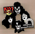 KISS Hard Rock Cafe Members PCC Group 2004 Pin