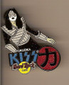 Hard Rock Cafe 2005 Fukuoka Ace Frehley Kiss Pin