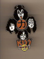 Hard Rock Cafe 05 Uyeno-EKI Tokyo Group Kiss Pin