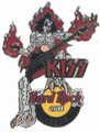 Hard Rock Cafe 2005 Gene Simmons Leeds Pin