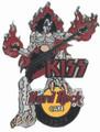 Hard Rock Cafe 2005 Gene Simmons Leeds Pin