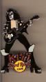 Hard Rock Cafe STUN 06 Gene Simmons Kiss Pin