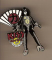 Hard Rock Cafe 05 Uyeno EKI Tokyo Fan Gene Simmons Kiss Pin