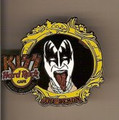 Hard Rock Cafe 06 Gran Canaria Gene Simmons Kiss Pin