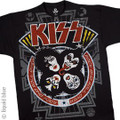 KISS Rock and Roll Over Large Print Tshirt
