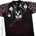 KISS Lick It Up Large Print Tshirt