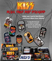 KISS Dog Tags and Stickers
